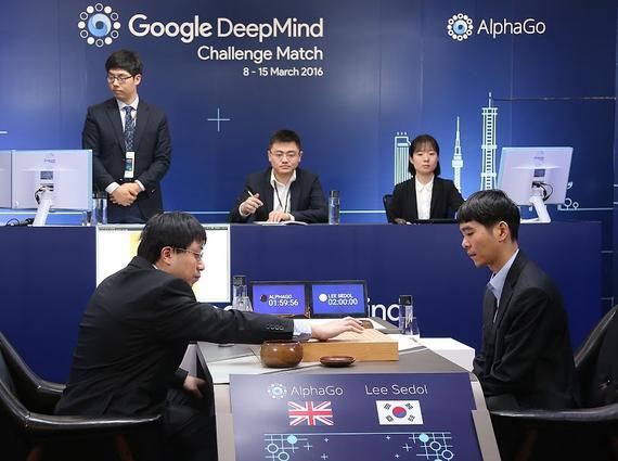 李世石终战胜AlphaGo扳回一局 赢回人类尊严