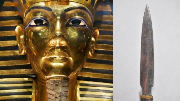 (美联社供图)-研究证实埃及法老匕首由陨石打造 比黄金还珍贵图片