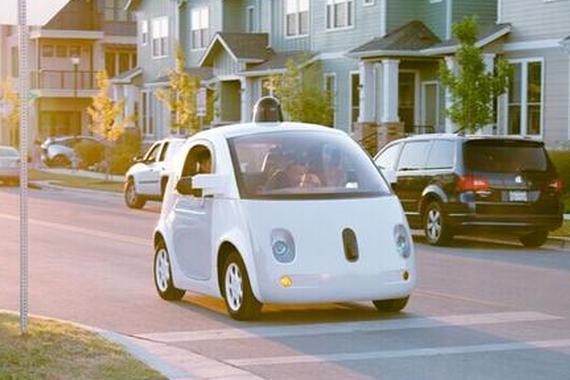 谷歌和多家汽车厂商反对加州无人驾驶汽车新规高清图片