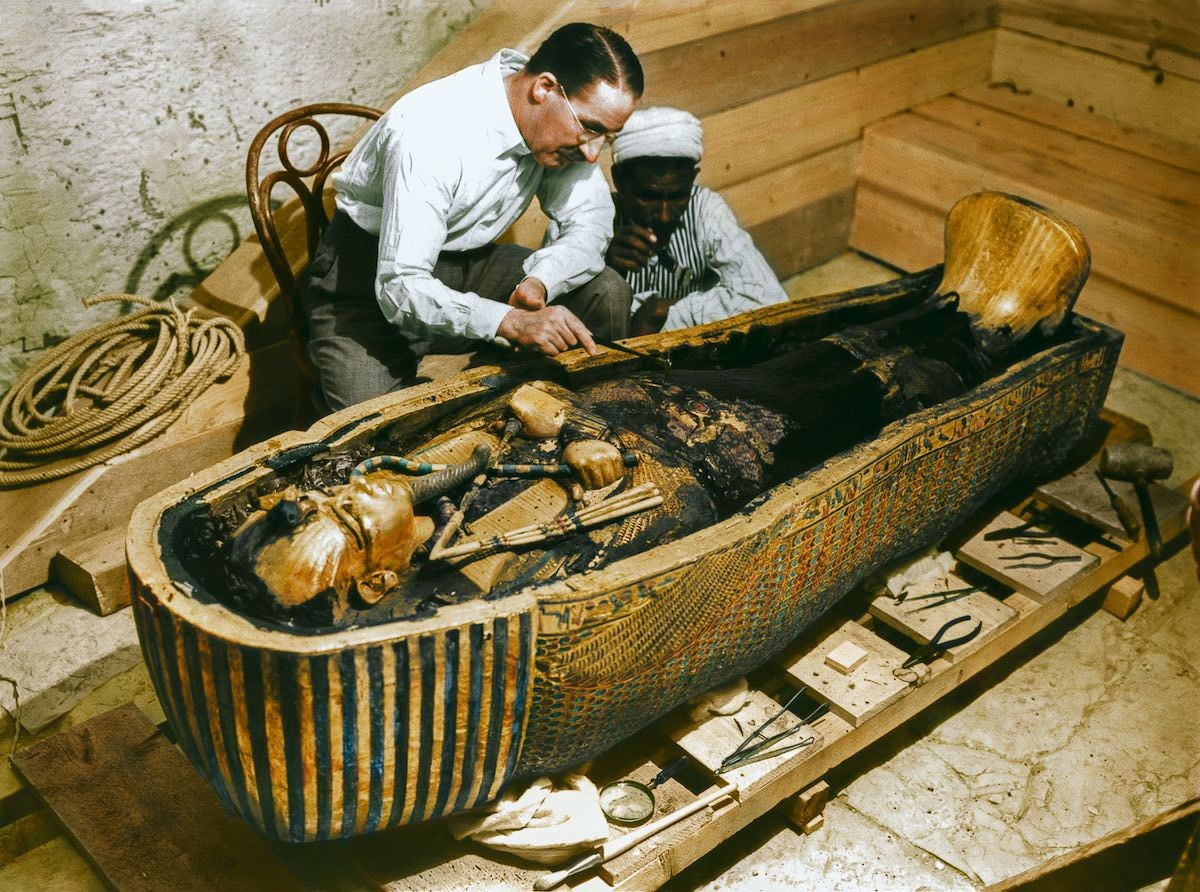 94年前图坦卡蒙墓现世 他们放出了法老诅咒