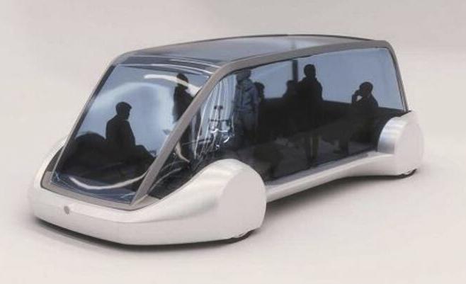 """隧道电动车?硅谷""""无聊""""公司发概念图"""