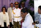 古巴举行隆重悼念活动