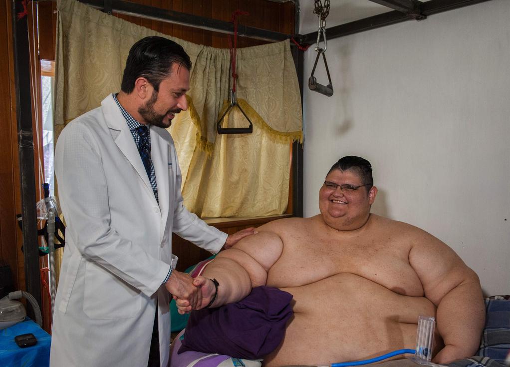 世界最重男4月狂減340斤