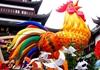 """新春""""鸡""""祥如意气氛浓"""