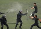 首都特警展示作战能力