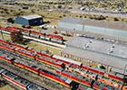中国机车开到南非