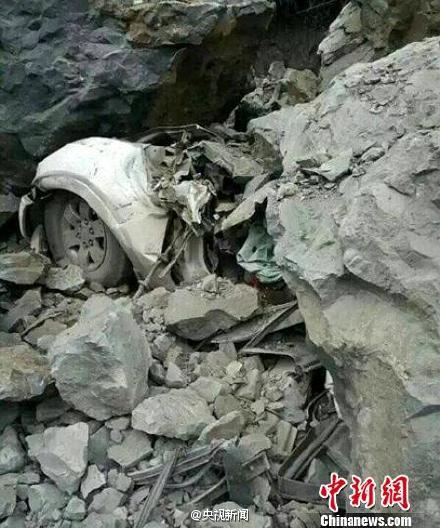 四川乐山官员勘察扶贫项目遇塌方 一行7人身亡