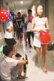 嗨气球隐秘生意链:内充致幻笑气 过量可能死亡