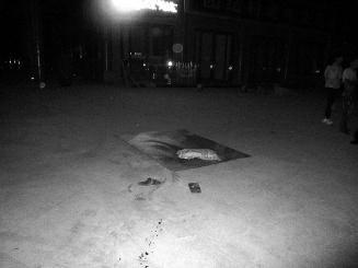 陕西男子广场乘凉 睡梦中直接被轿车碾死