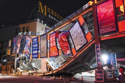 TT娱乐现场赌博:北五环天桥坍塌 天桥竣工未验收和定期检修