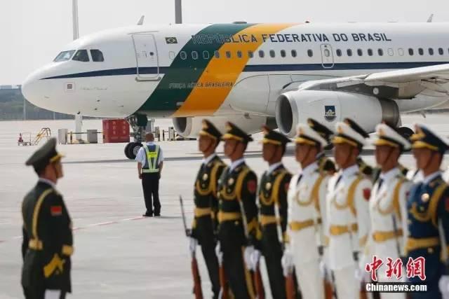 州机场上的各国领导人专机型号曝光图片