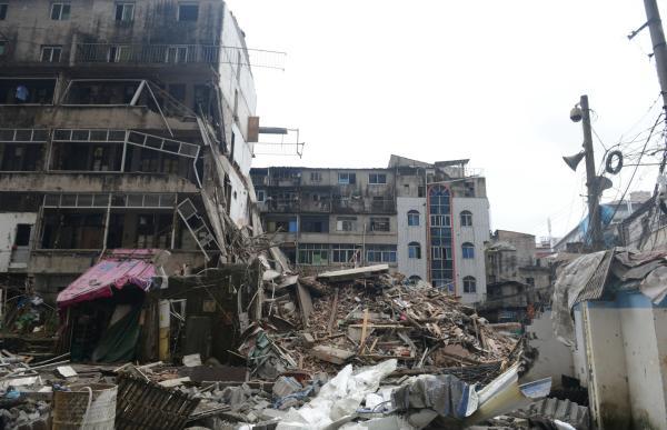 温州4间民房倒塌 媒体:对自建房排查监管不能再拖