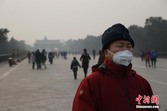 中国空气重污染天气持续影响范围扩大