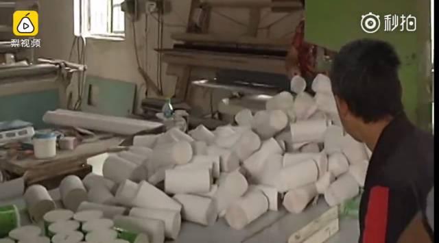 纸巾的生产步骤