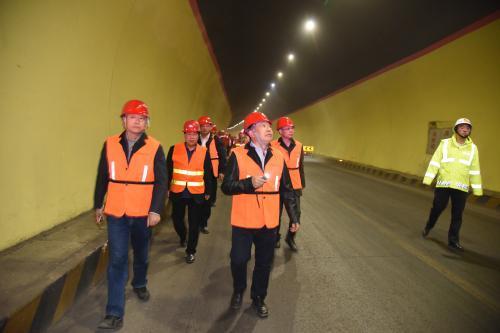 国家道路及桥梁质检中心对甘肃折达公路全线