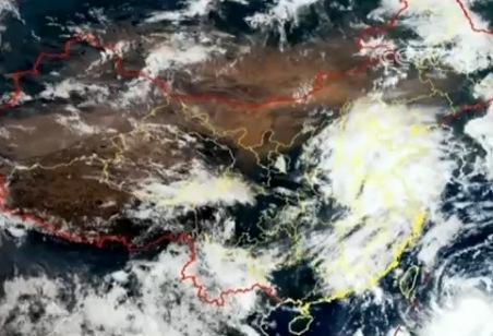 """台风""""艾云尼""""停止编号 降雨仍影响广东江西局地"""