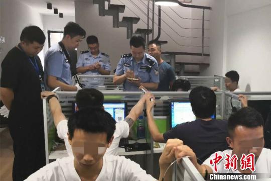 武汉警方破获特大网络诈骗案 抓获嫌疑人394名