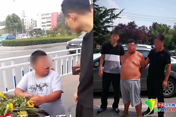 """河南跪拦婚车要钱的""""濮阳拦婚车第一人""""网红小胖被刑拘"""