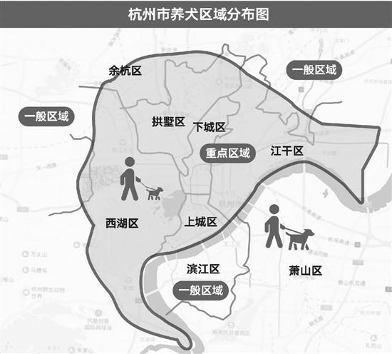 杭州整治养犬:大型犬不得出户 遛犬不牵绳最高罚1千