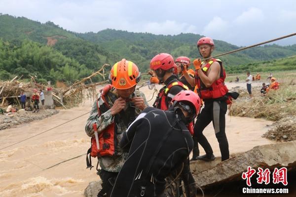 广东连平县因灾死亡人数增至11人
