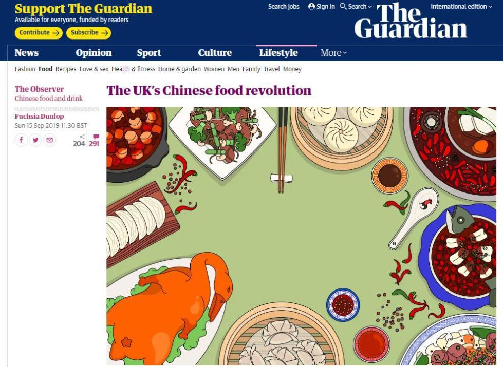 【中国那些事儿】被川菜迷住的英国美食作家:我想让更多的人了解中餐