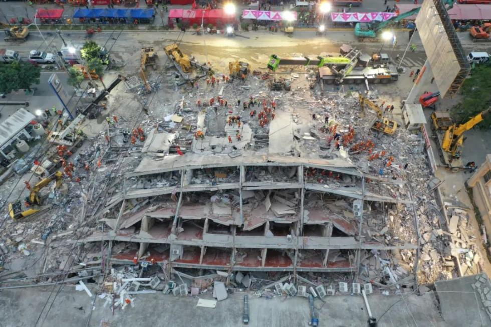 泉州欣佳酒店坍塌致29人死亡,事故内幕曝光,违规细节触目惊心……
