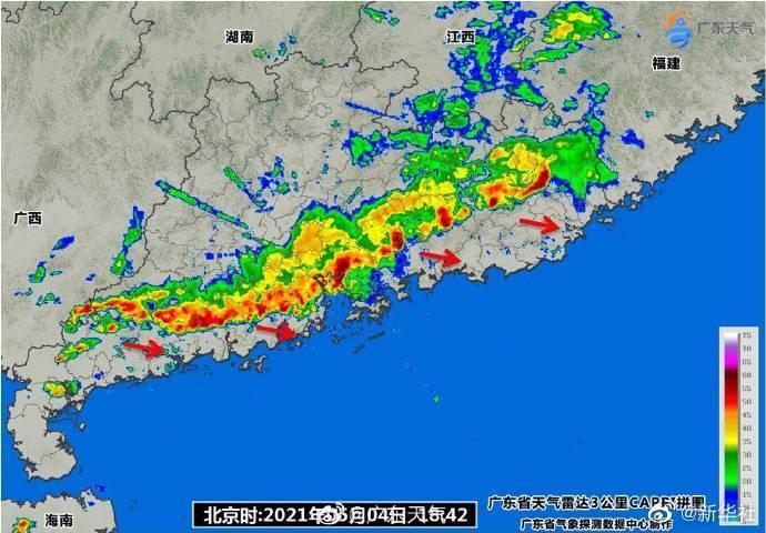 强雷雨导致白云机场取消航班158架次