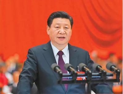 2017年10月18日,我��共�a�h第十九次全��代表大��在北京人民大��堂�_幕。�近平代表第十八�弥醒胛��T��向大��作�述。