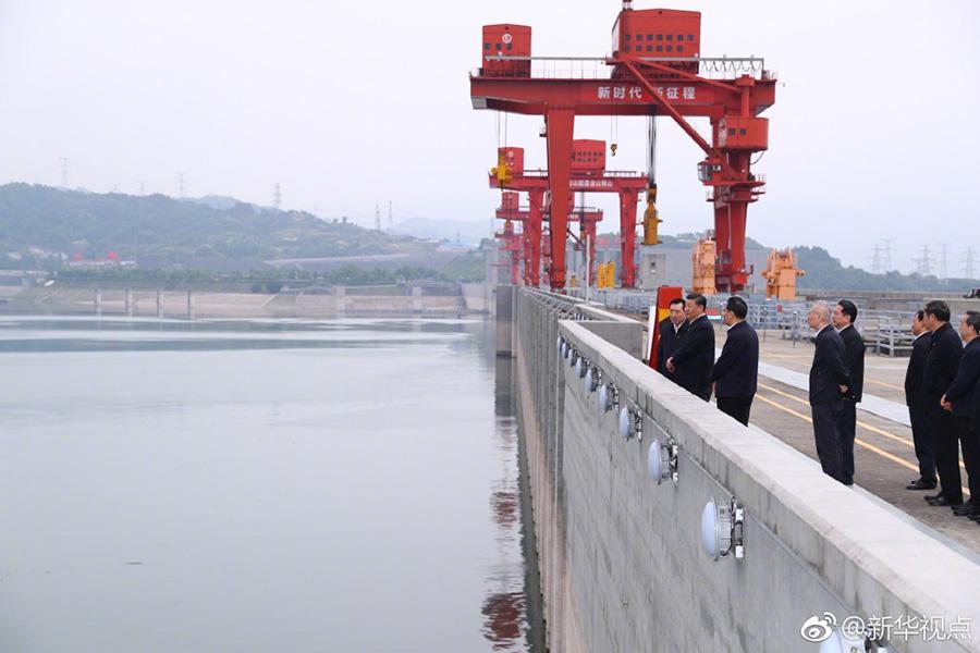 习近平考察三峡工程:大国重器必须掌握在我们自己手里