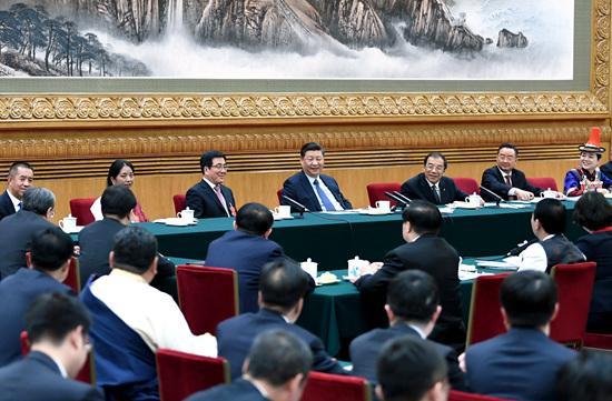 习近平在甘肃代表团参加审议时强调 脱贫攻坚越到最后时刻越要响