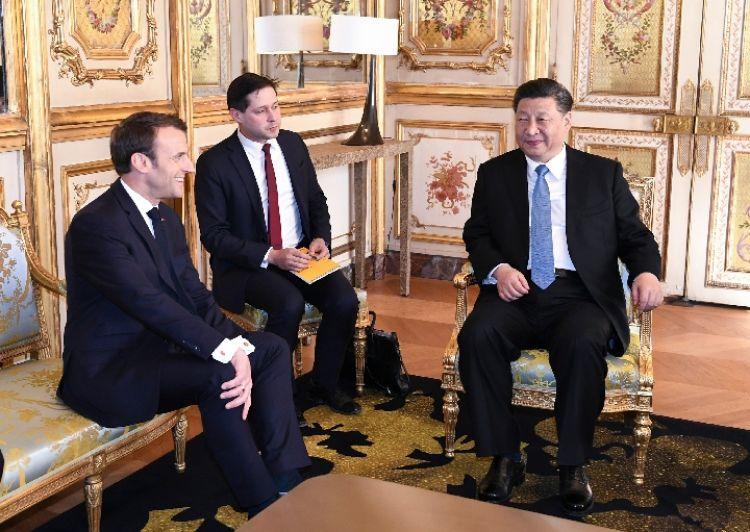 在巴黎,习主席用这些词来比喻大国相处之道