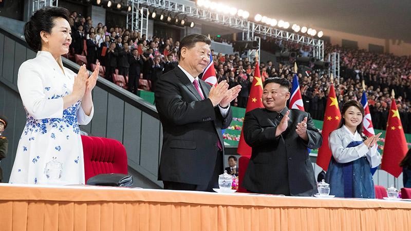 谱写中朝友谊新篇,维护半岛和平稳定<br>