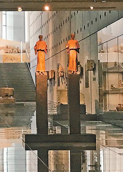 习近平主席参观雅典卫城博物馆特写斗智情缘第二部