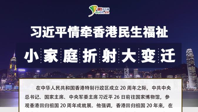 习近平情牵香港民生福祉 小家庭折射大变迁