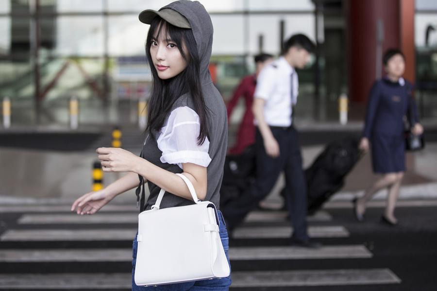张嘉倪时尚回顾 追求美丽有态度的生活