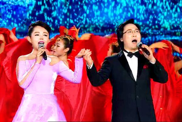 廖昌永 李菲菲央视新年晚会放歌新时代《筑梦中国》