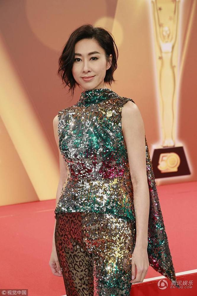 TVB台庆红毯众女星性感争艳