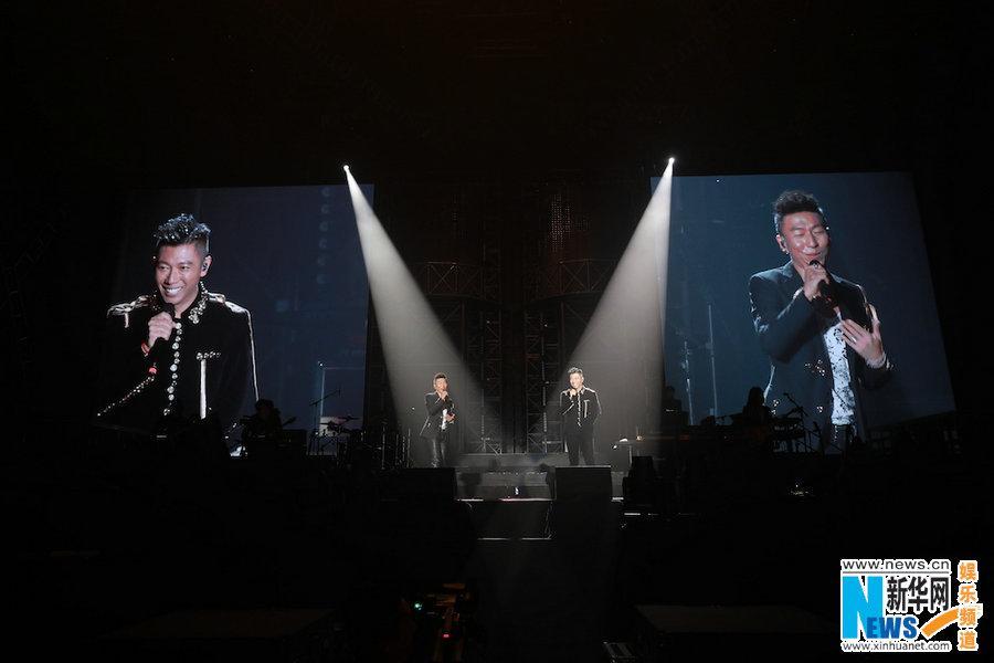 金沙网上娱乐送27:羽泉20周年巡演苏州启航_三十首经典呈现
