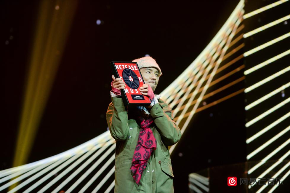 朴树《猎户星座》获硬地围炉夜`2017网易云音乐原创盛典年度专辑