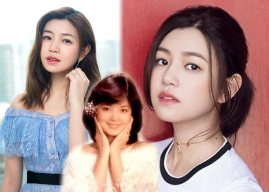 陈妍希在家练邓丽君的歌 儿子捧场一听就不哭了