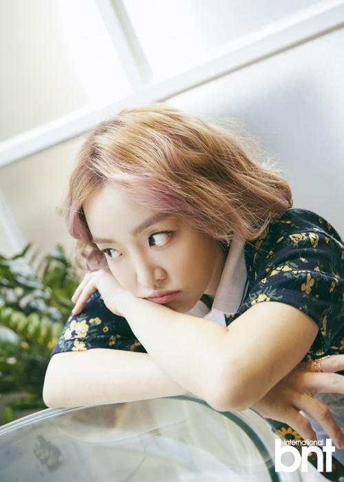 组图:韩星润荷拍写真 炫彩时尚演绎梦幻清新