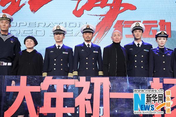 张涵予《红海行动》演舰长 燃动爱国主旋律