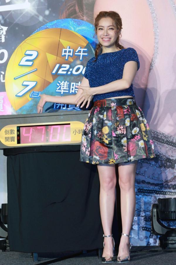 组图:同期蔡依林已成天后 徐怀钰出道20年将开首场大型演唱会