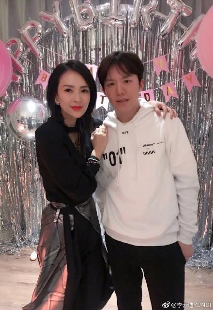 组图:李云迪晒章子怡生日会合影 朋友圈阵容超强大