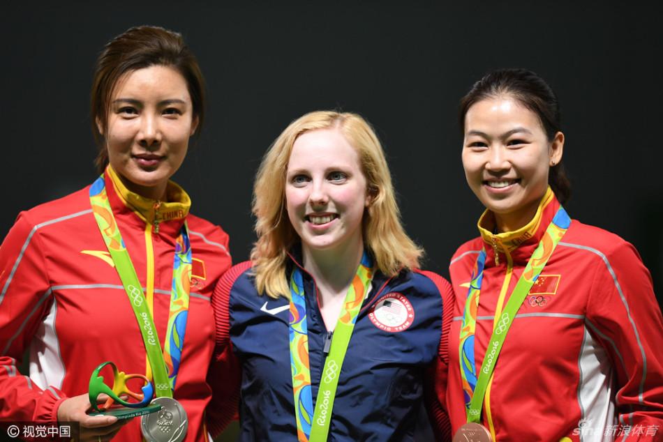 里约奥运出首金花落美国 杜丽易思玲摘得银铜
