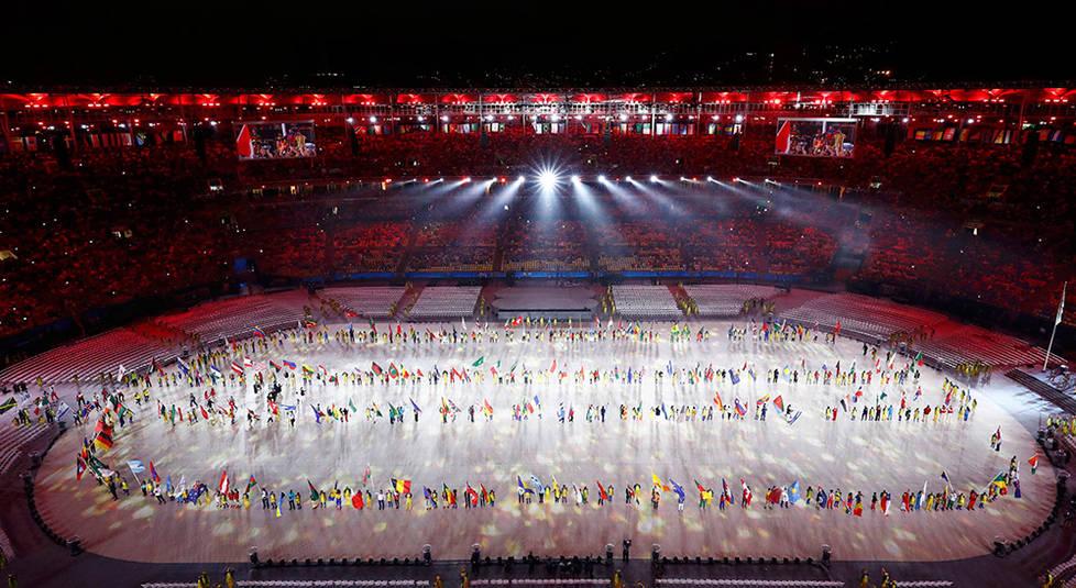 直播:里约奥运会闭幕式