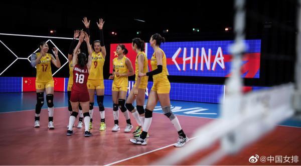 收官战3比0完胜美国队!中国女排结束世界联赛征程插图