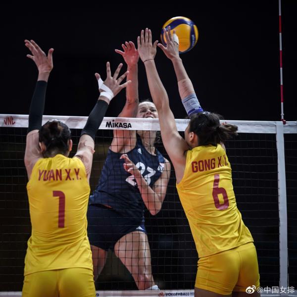 收官战3比0完胜美国队!中国女排结束世界联赛征程插图1